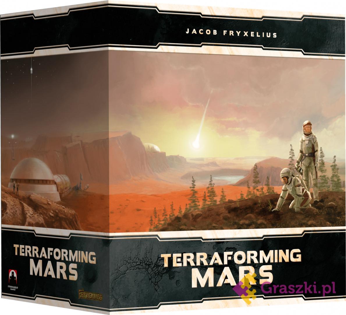 Przedsprzedaż Terraformacja Marsa: Big Storage Box + elementy 3D (edycja polska)